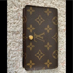 Louis Vuitton Wallet - partially refinished